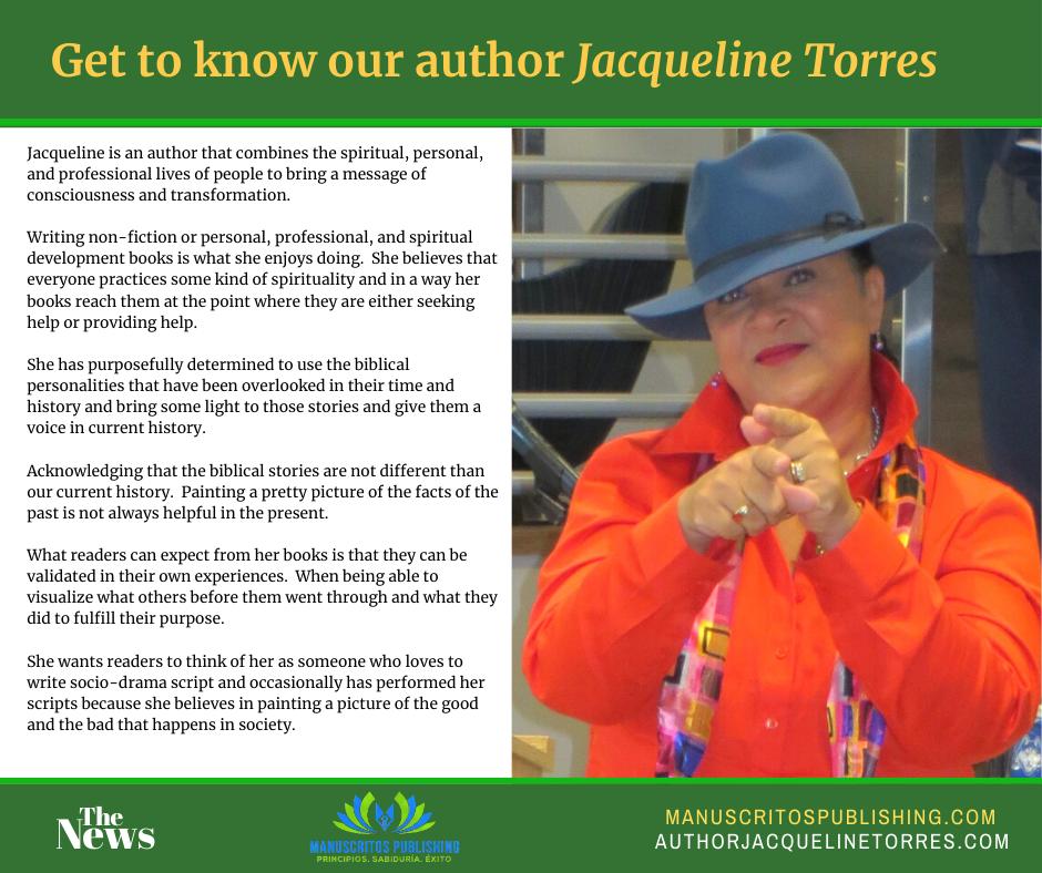 Author Jacqueline Torres